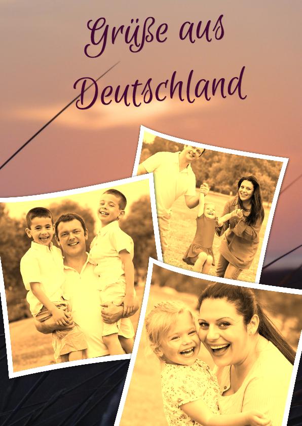 Vakantiekaarten - Grüße aus Deutschland - BK