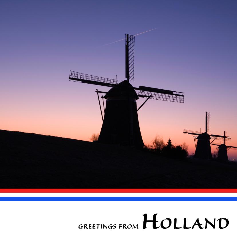 Greetings from holland vii vakantiekaarten kaartje2go greetings from holland vii m4hsunfo