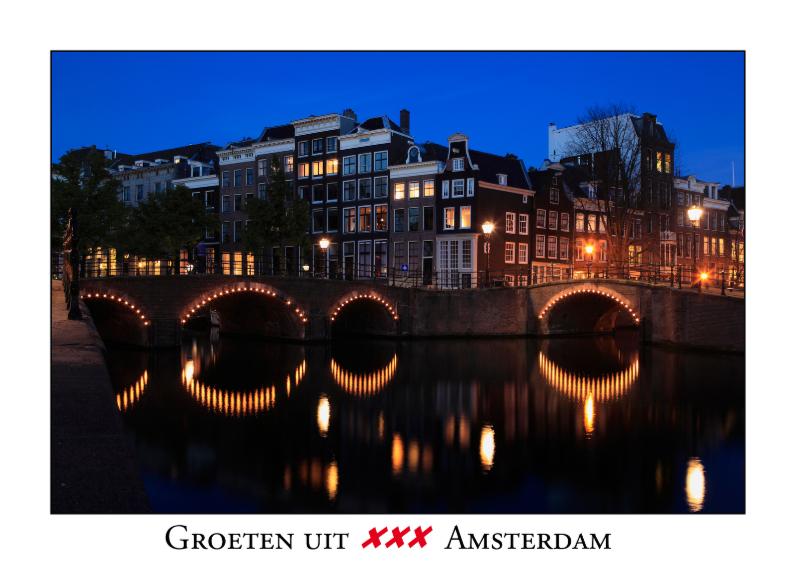 Vakantiekaarten - Groeten uit Amsterdam VI