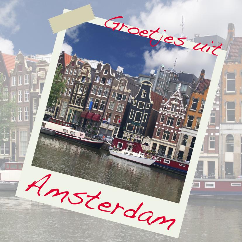 Vakantiekaarten - groeten uit Amsterdam