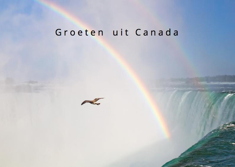 Vakantiekaarten - groeten uit Canada