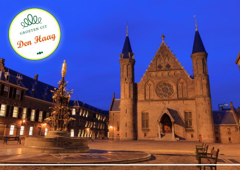 Vakantiekaarten - Groeten uit het Binnenhof