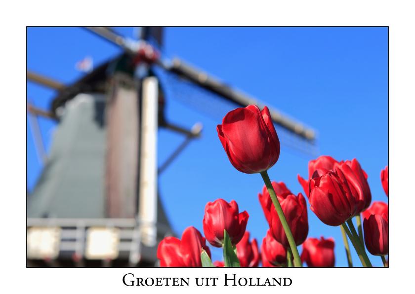 Vakantiekaarten - Groeten uit Holland L