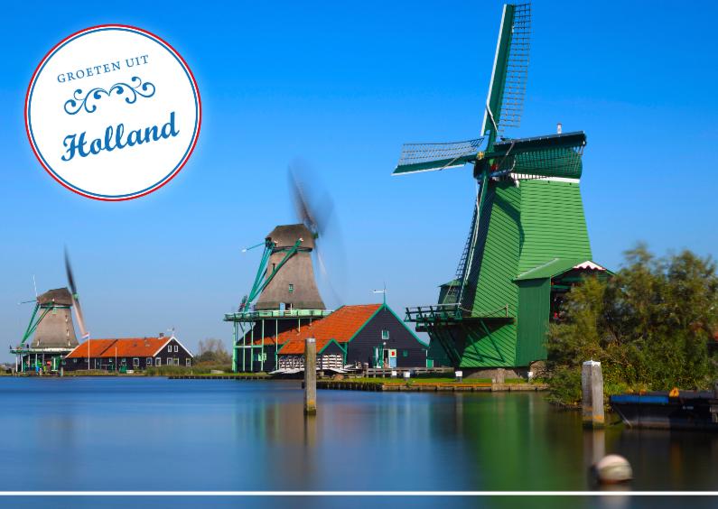 Vakantiekaarten - Groeten uit Holland LVIII
