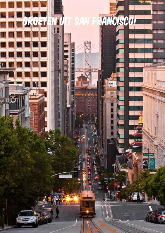 Vakantiekaarten - Groeten uit San Francisco