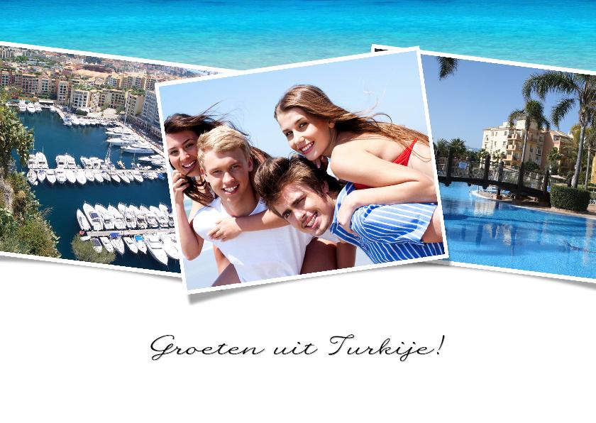 Vakantiekaarten - Groeten uit Turkije - BK