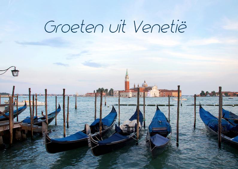 Vakantiekaarten - Groeten uit Venetie - Italie