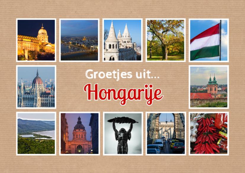 Vakantiekaarten - Groetjes uit Hongarije - DH
