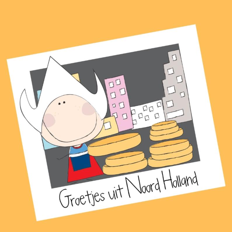 Vakantiekaarten - Groetjes uit Noord-Holland