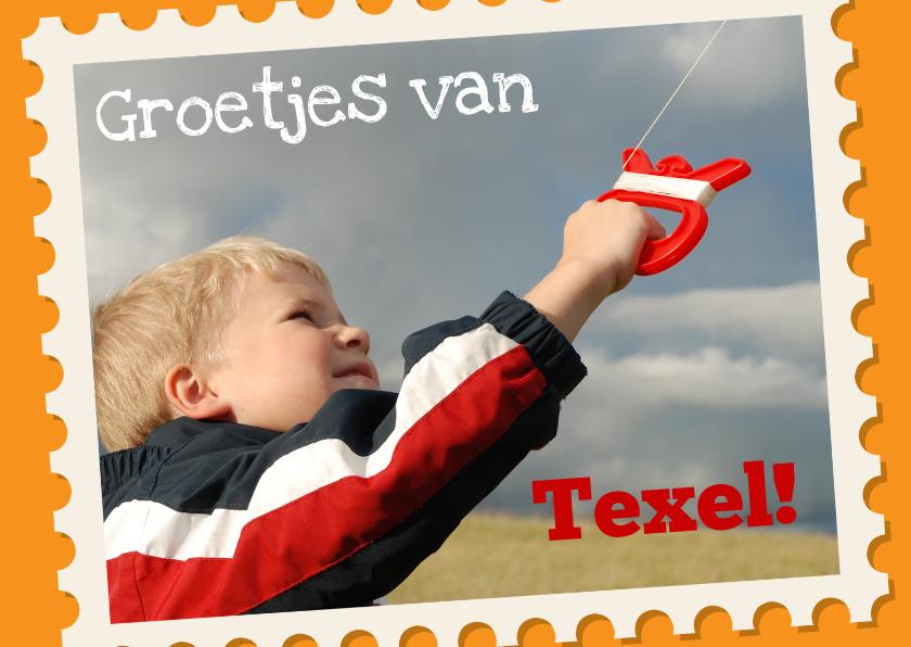 Vakantiekaarten - Groetjes uit Texel eigen foto