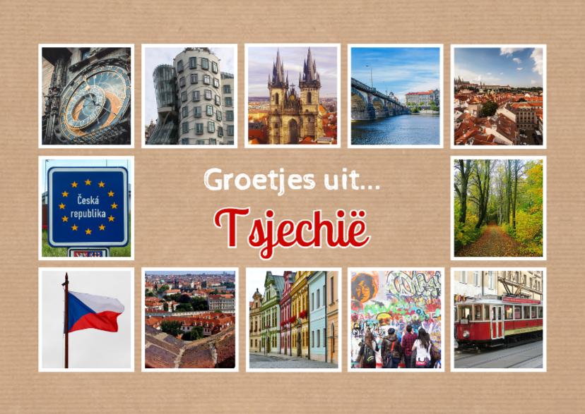 Vakantiekaarten - Groetjes uit Tsjechië - DH
