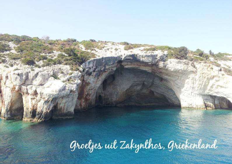 Vakantiekaarten - Groetjes uit Zakynthos