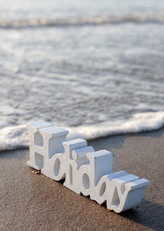 Vakantiekaarten - Holiday aan zee