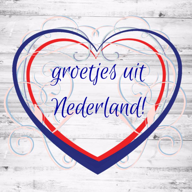Vakantiekaarten - Hollandse groetjes