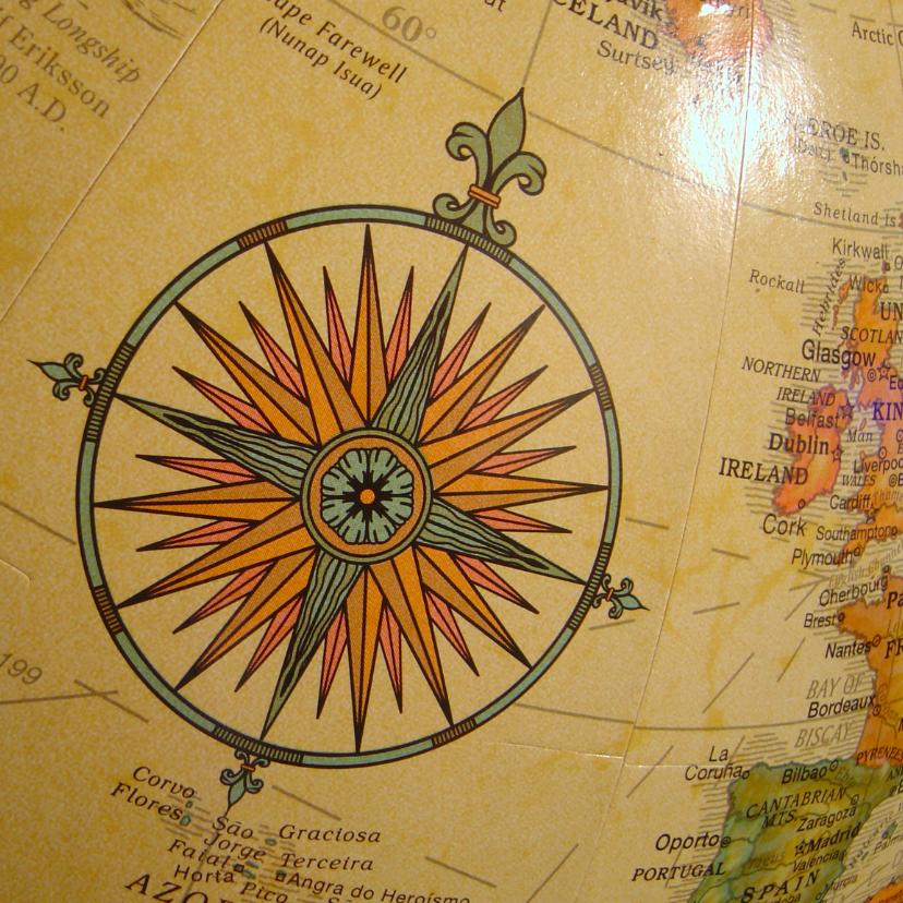 Vakantiekaarten - Kompas