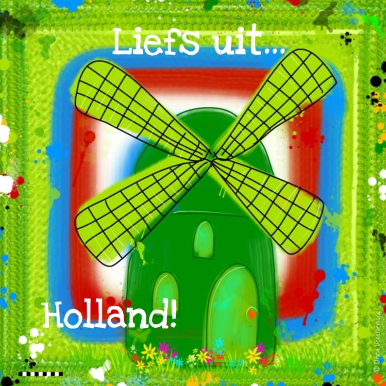 Vakantiekaarten - Liefs Holland