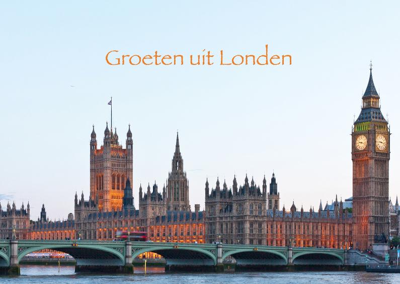 Vakantiekaarten - Londen