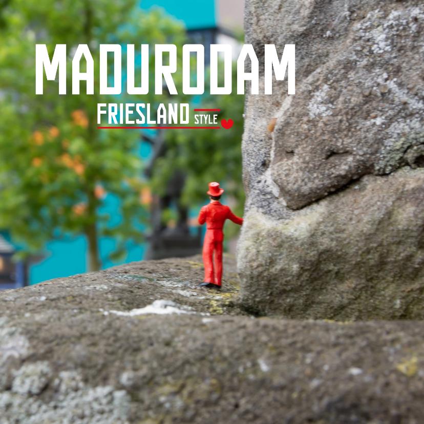 Vakantiekaarten - Madurodam Friesland Style