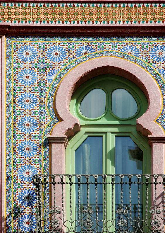 Vakantiekaarten - Moors Raam - Mozaiek