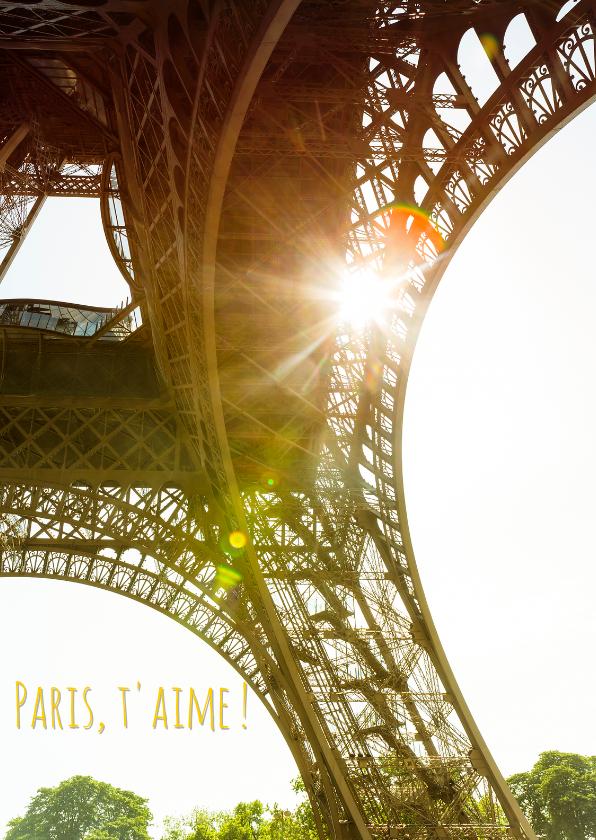 Vakantiekaarten - Paris, t'aime