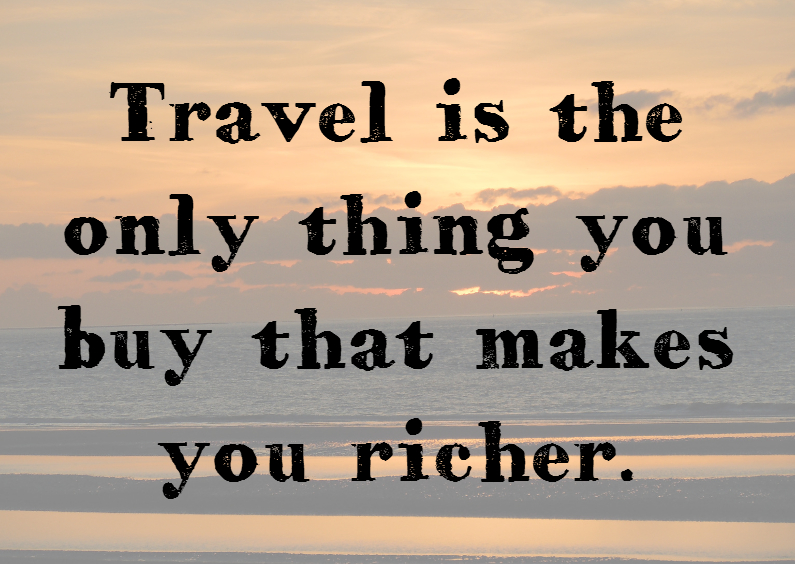 spreuken over reizen Reizen maakt rijk   Vakantiekaarten | Kaartje2go spreuken over reizen