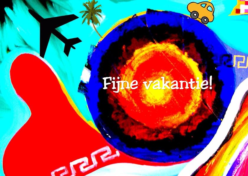 Vakantiekaarten - Sunny adventure