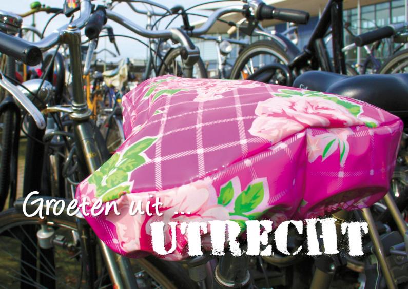 Vakantiekaarten - Typisch Hollands - fietsen 1