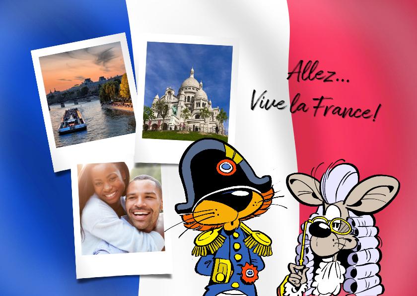 Vakantiekaarten - Vakantie Loeki in Frankrijk 2 -A