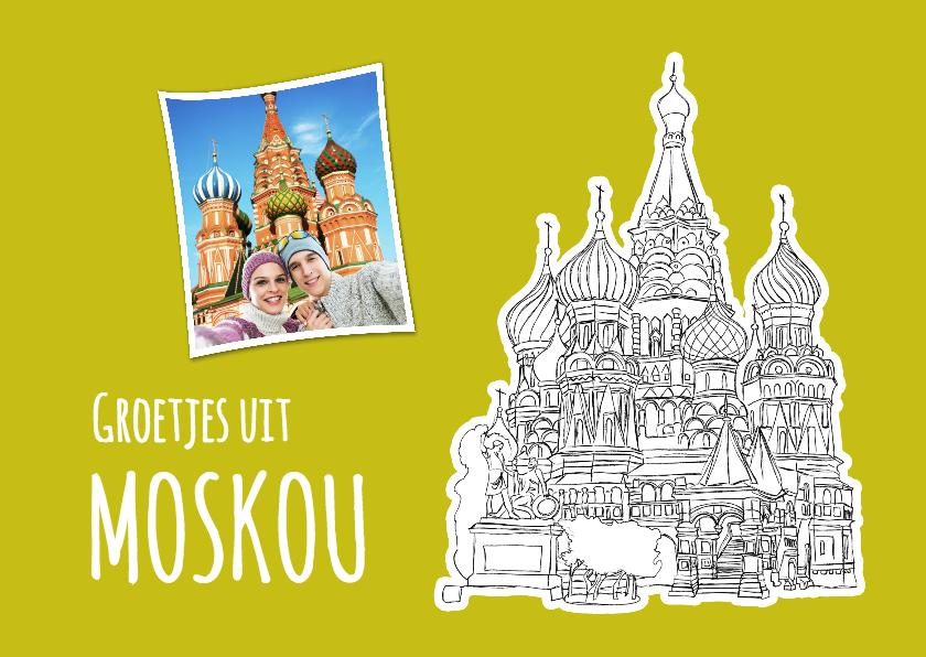 Vakantiekaarten - Vakantie Moskou - SG
