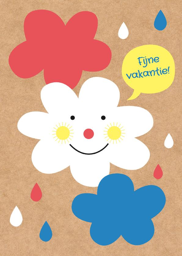 Vakantiekaarten - Vakantie-Nederland Wolken -HK