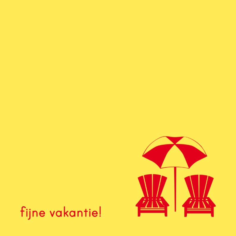 Vakantiekaarten - Vakantie V