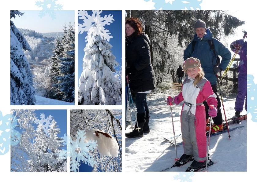 Vakantiekaarten - Vakantie wintersport