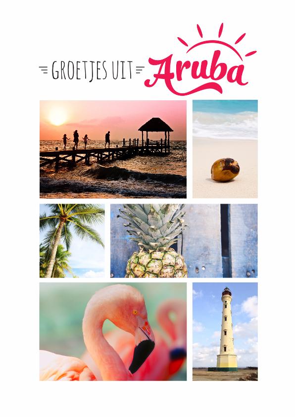 Vakantiekaarten - Vakantiekaart Aruba eigen foto