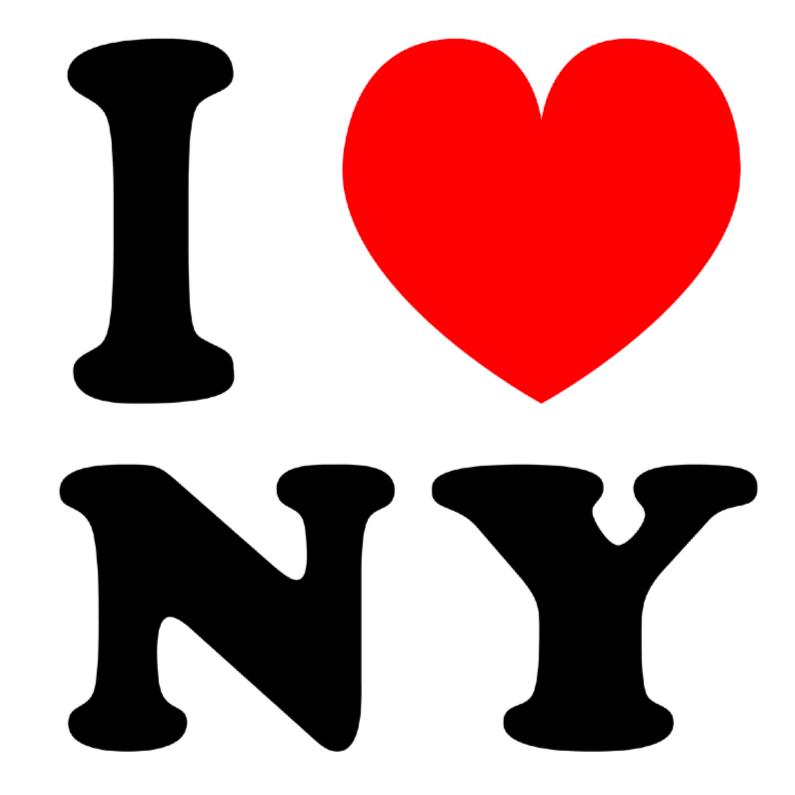 Vakantiekaarten - Vakantiekaart I love NY