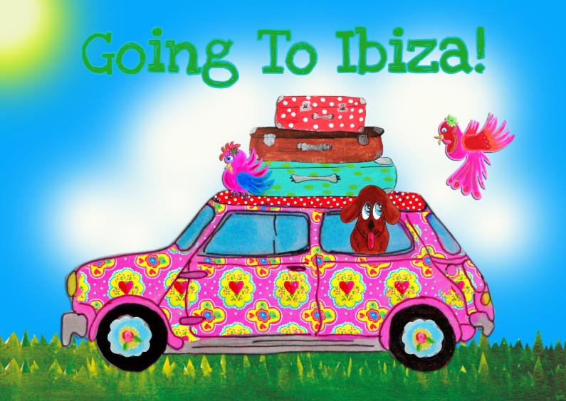 Vakantiekaarten - Vakantiekaart Ibiza PA