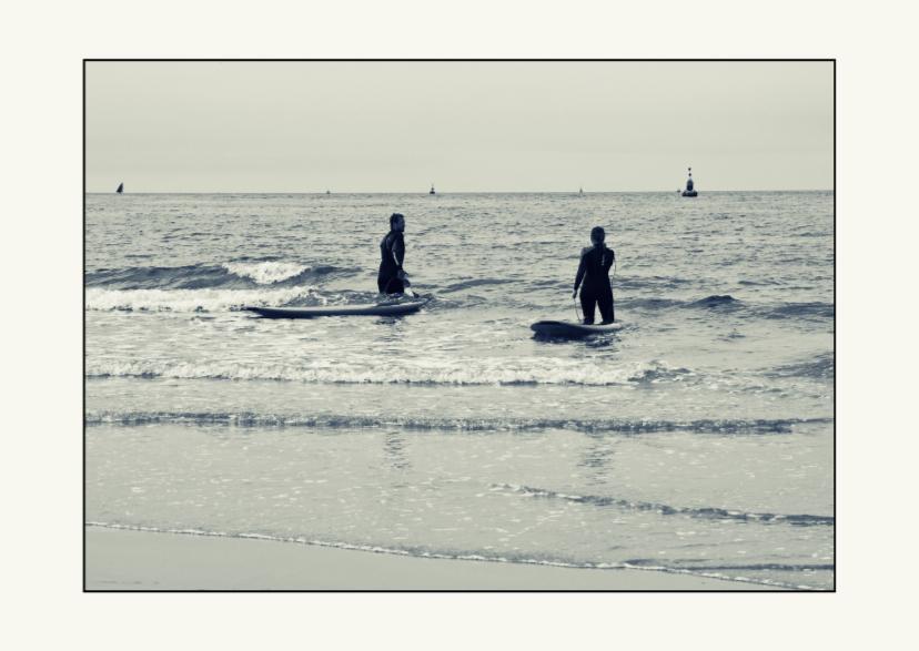 Vakantiekaarten - Voor de surf liefhebber