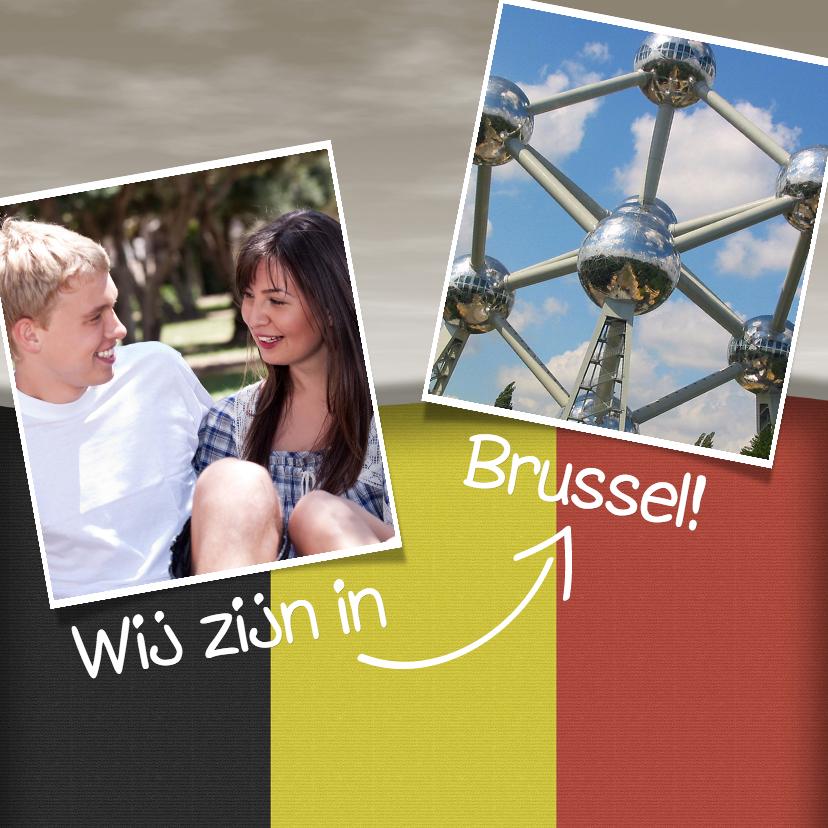 Vakantiekaarten - Wij zijn in België - BK