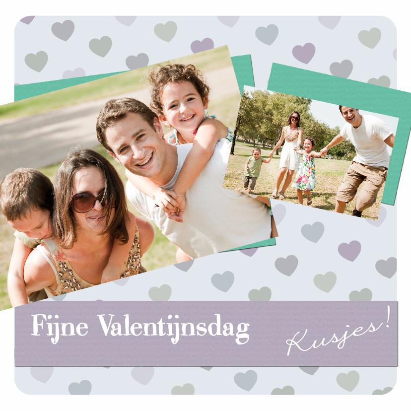 Valentijnskaarten - Fijne Valentijnsdag Kusjes - BK