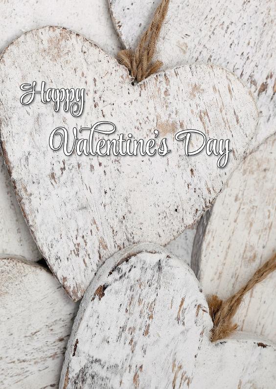 Valentijnskaarten - Happy Valentine's Day