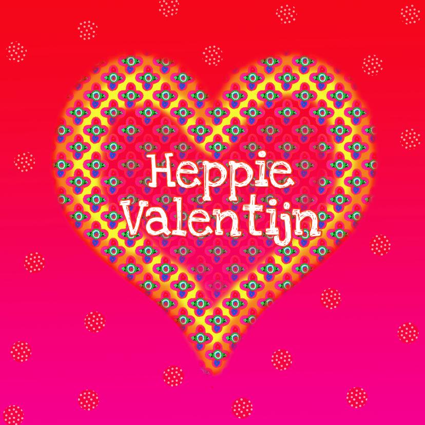 Valentijnskaarten - Heppie Valentijn PA