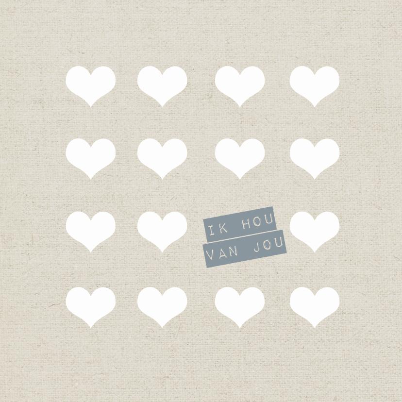 Valentijnskaarten - Ik hou van jou -HM