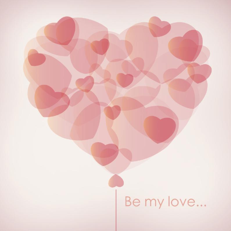 Valentijnskaarten - Liefde hart 12