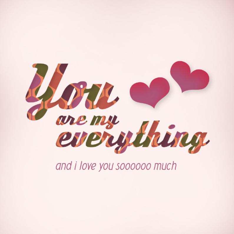 Valentijnskaarten - Liefde hart 8