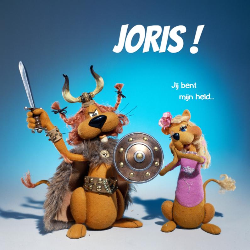 Valentijnskaarten - Loeki de Leeuw viking held