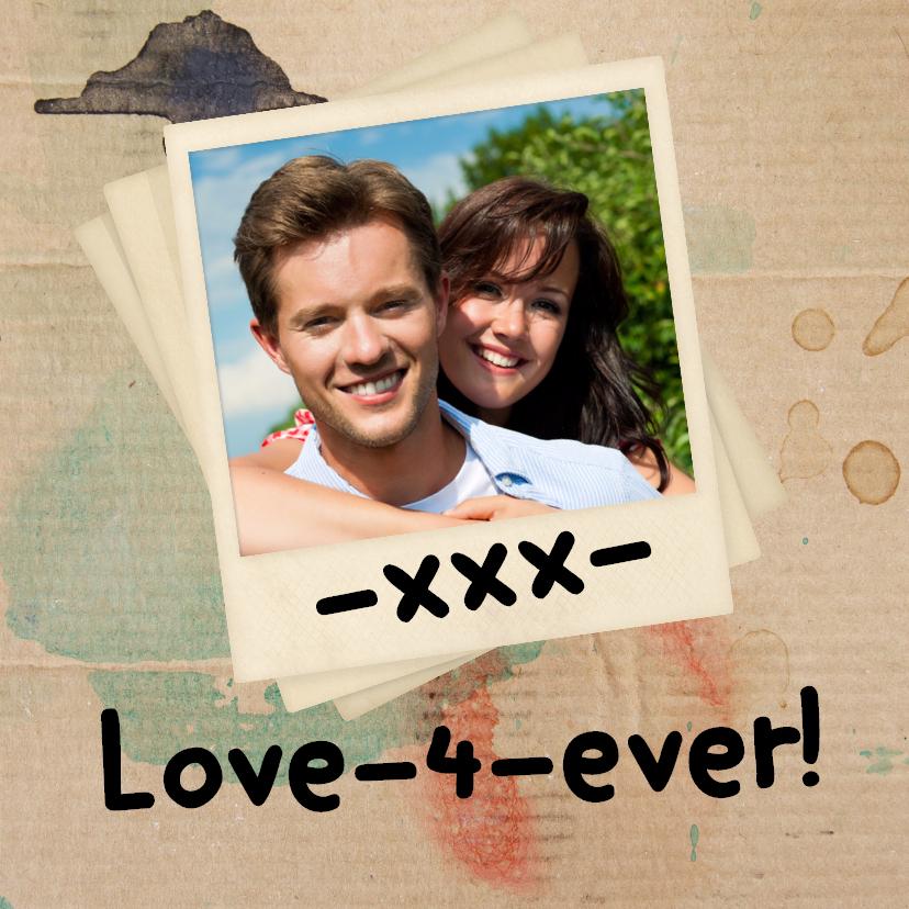 Valentijnskaarten - Love-4-ever! -xxx- stift- BK