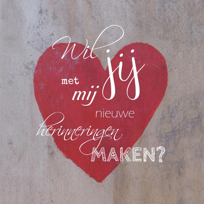 Valentijnskaarten - Valentijn herinnering