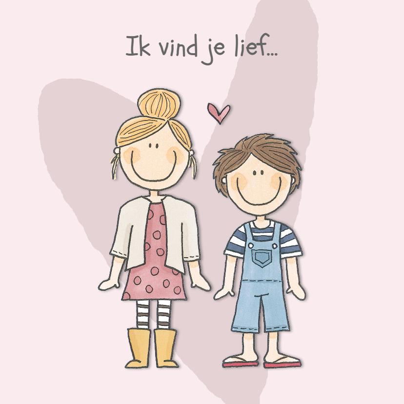 Valentijnskaarten - Valentijn Kindjes
