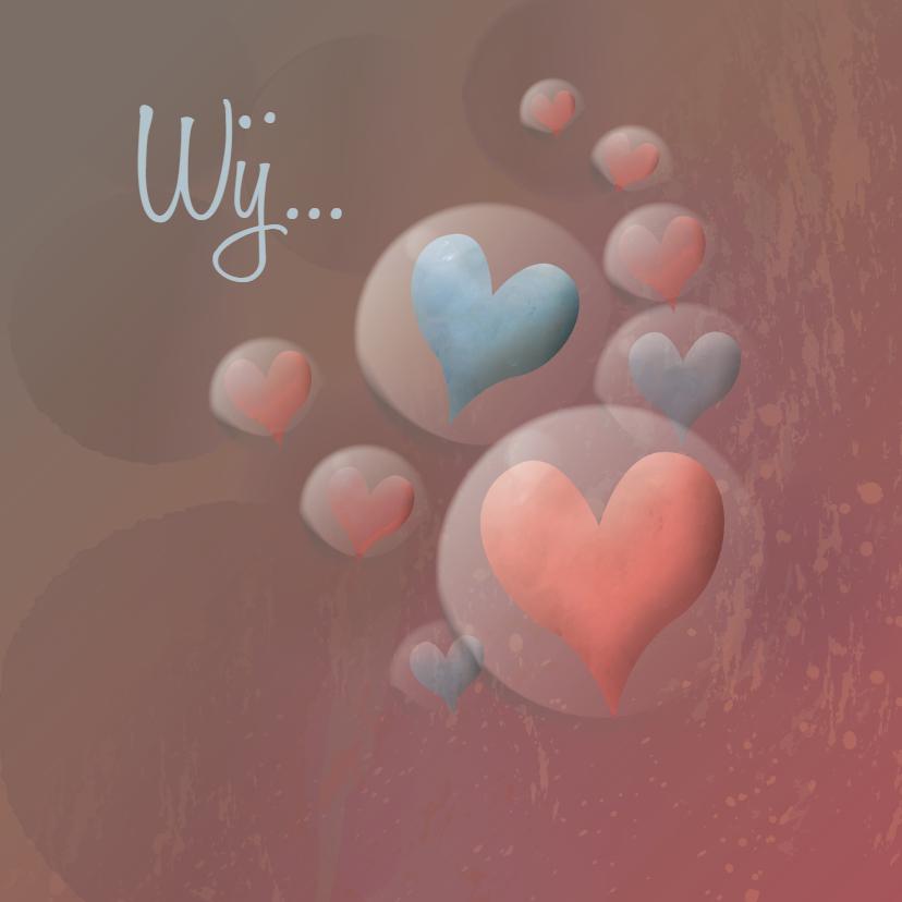 Valentijnskaarten - Valentijn - Love & Bubbles - MW