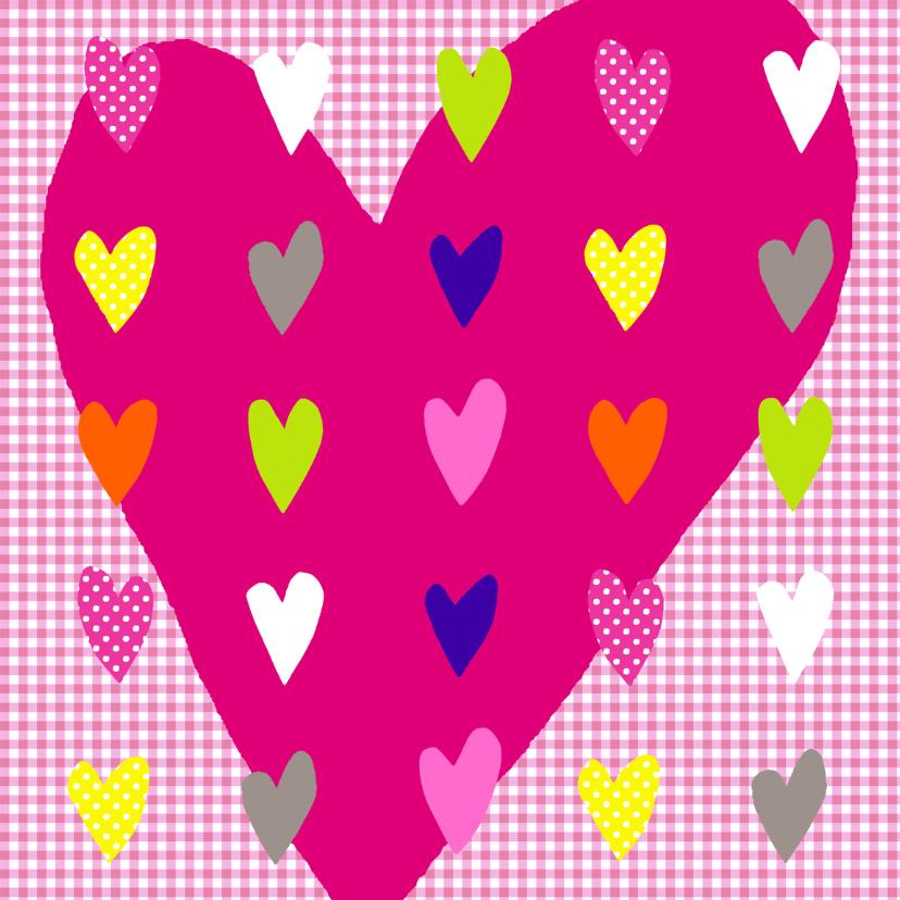 Valentijnskaarten - Valentijnshart