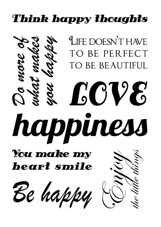 Valentijnskaarten - Valentijnskaart happy tekst